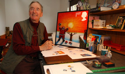 Snowman author Raymond Briggs - Weekend feature