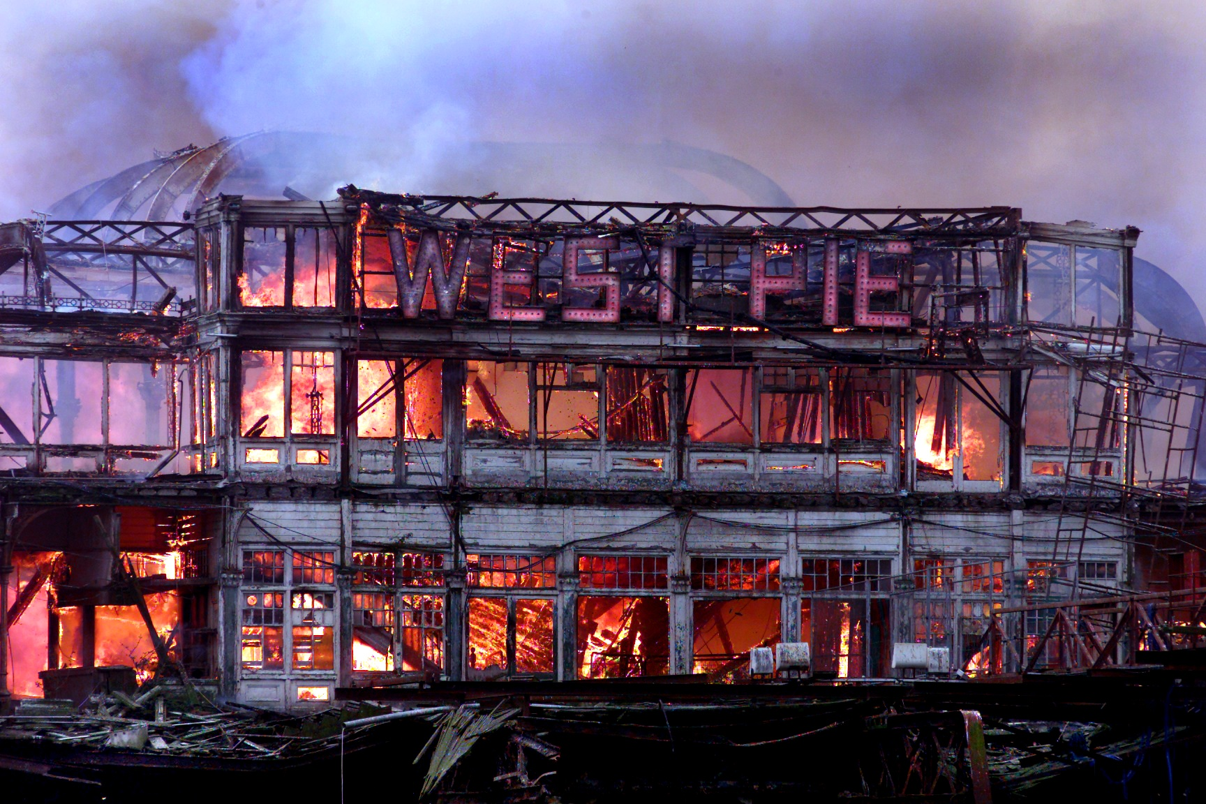 West Pier Fire - News