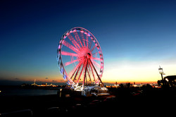 Brighton Wheel turns pink for Cancer Research - News