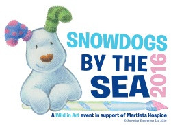 Snow dogs by the Sea logo