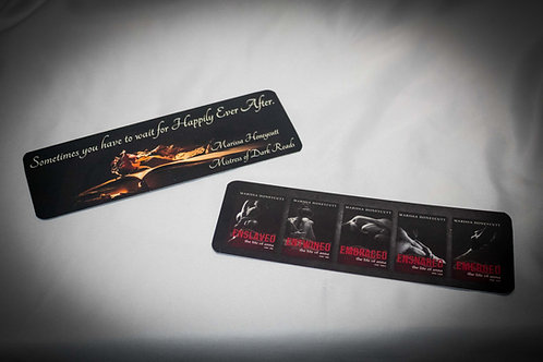 Signed Paper Bookmarks