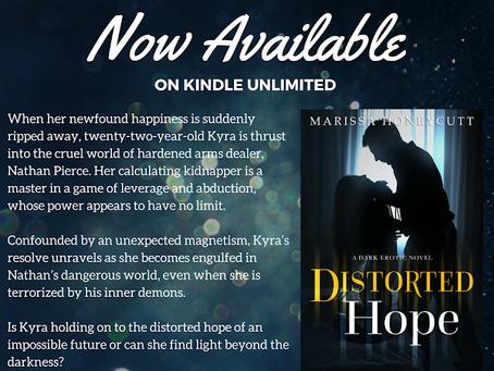 Distorted Hope on Kindle Unlimited