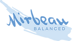 Mirbeau balanced logo