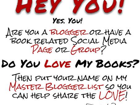 Looking for Bloggers/Social Media Gurus