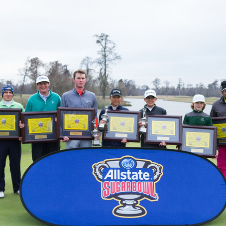 Top Ranked Junior Golfers Looking to Shine in the 2018 Allstate Sugar Bowl Tommy Moore Memorial