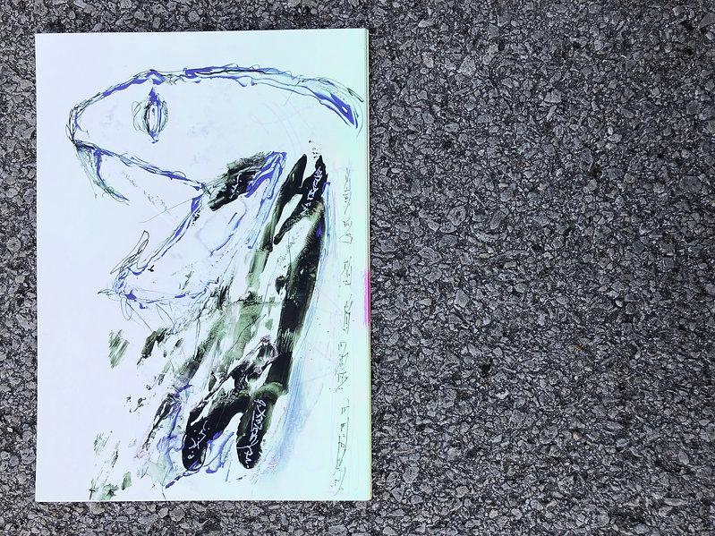 LETTERS FROM DIVINE II - Foal - 18, 2019
