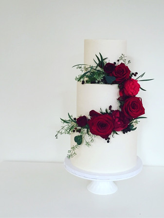 Our Classic ~ Red Flowing Flowers