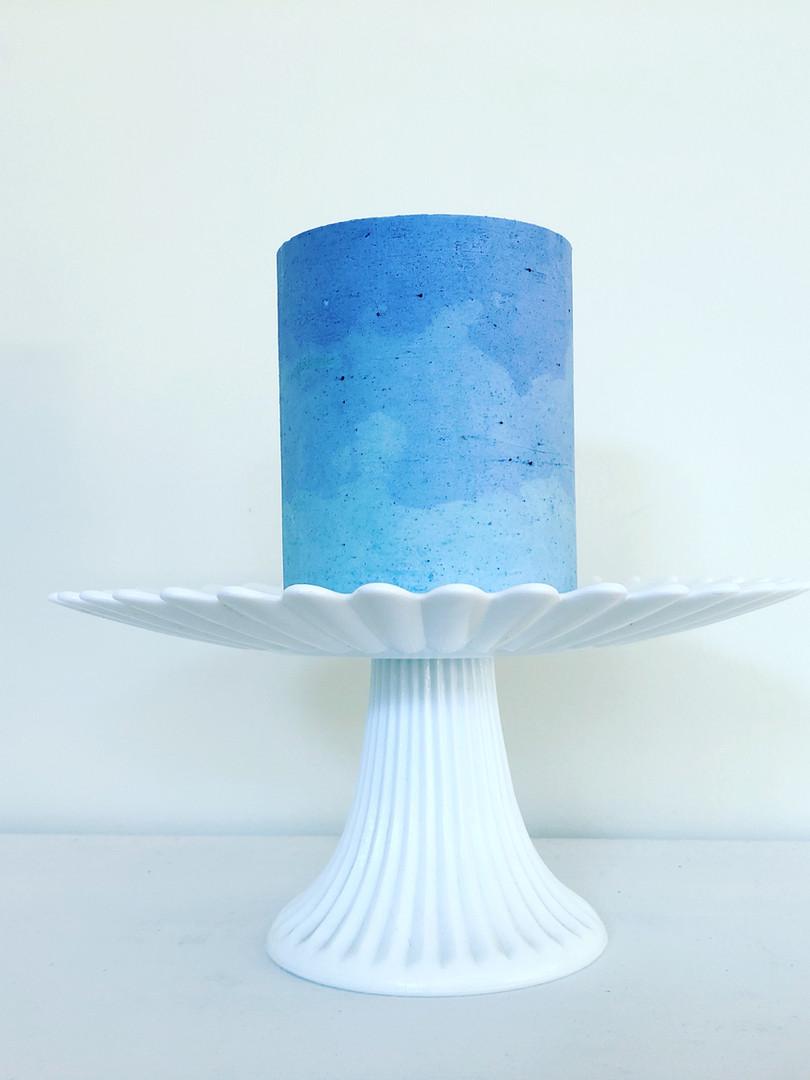 Ombre Blue Buttercream