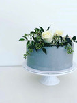 Smooth Grey Buttercream