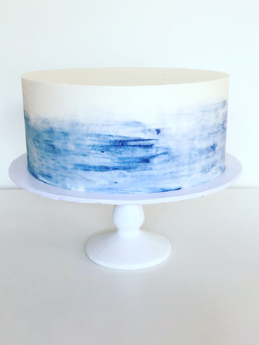 Blue Watercolour