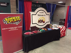 Ada, MN booth at Home Show in Fargo