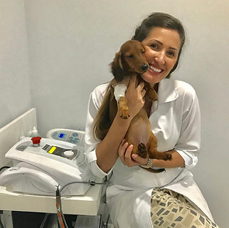 Fisioterapeuta veterinária Gabriela Salim