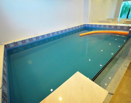 área de exercícios aquáticos - fisioterapia
