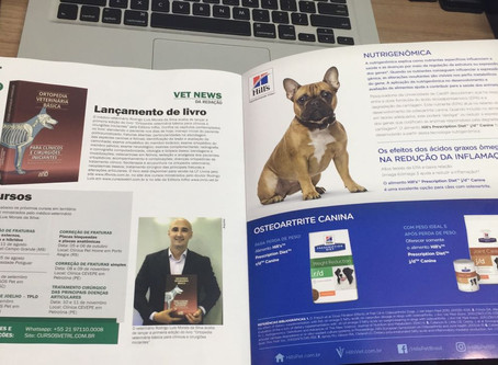 """Lançamento do livro """"Ortopedia Veterinária Básica"""" foi um dos destaques do 39 Congresso Brasileiro."""