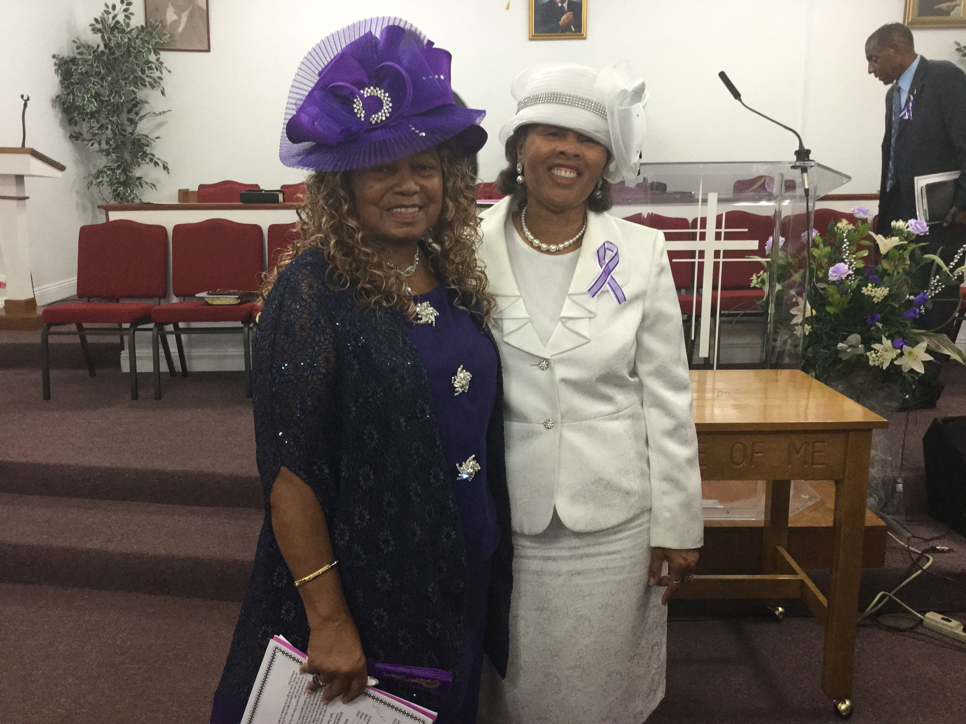 Dr. Joyce Brown & Sherry Howard