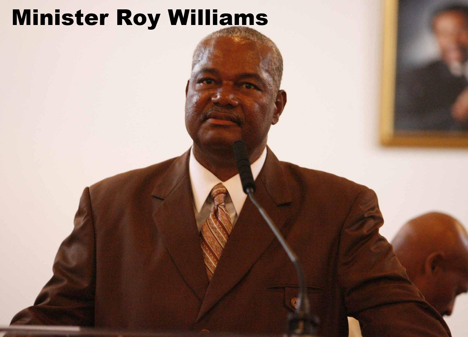 Rev  Roy Williams