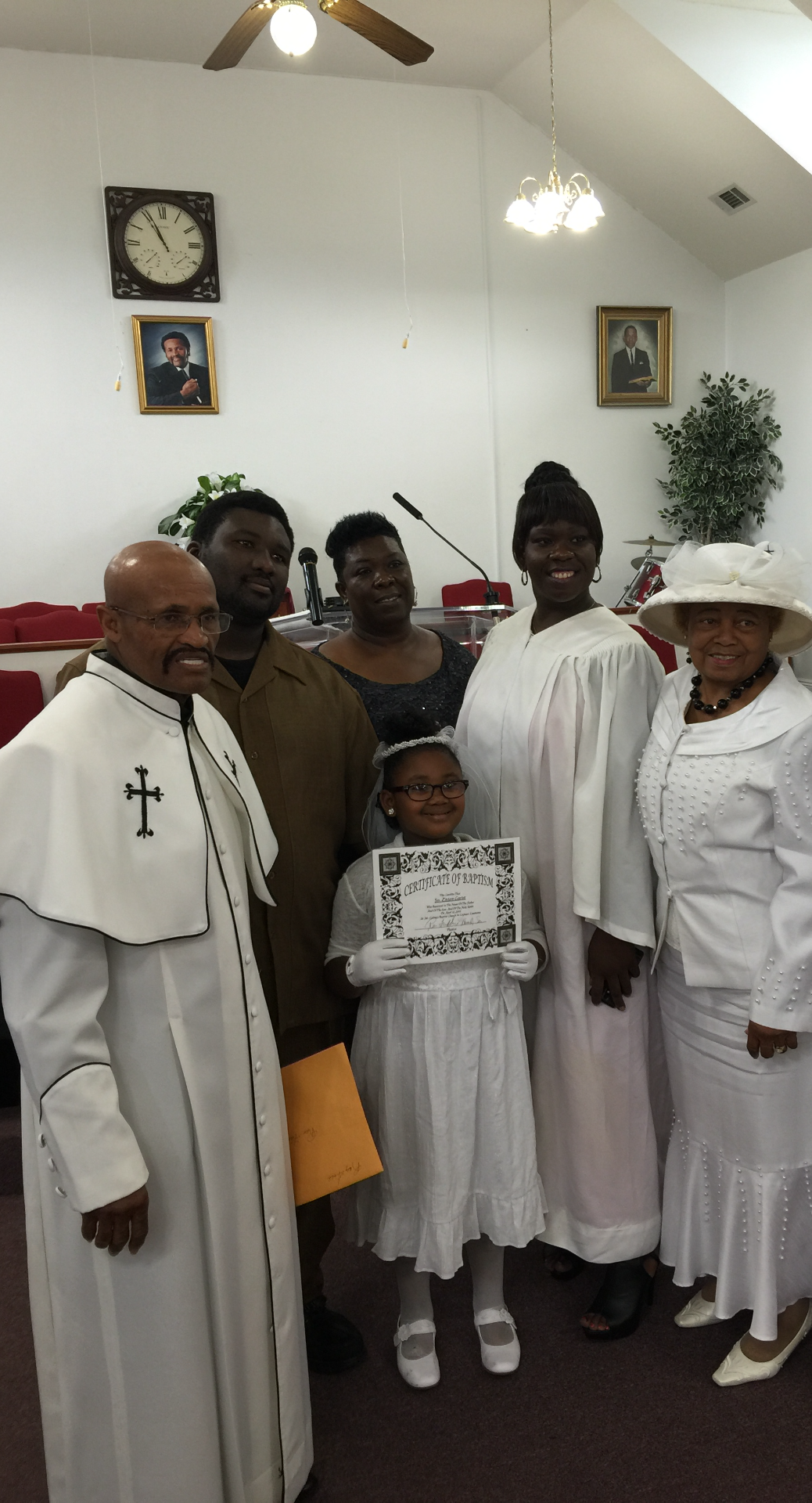 Arianne First Communion