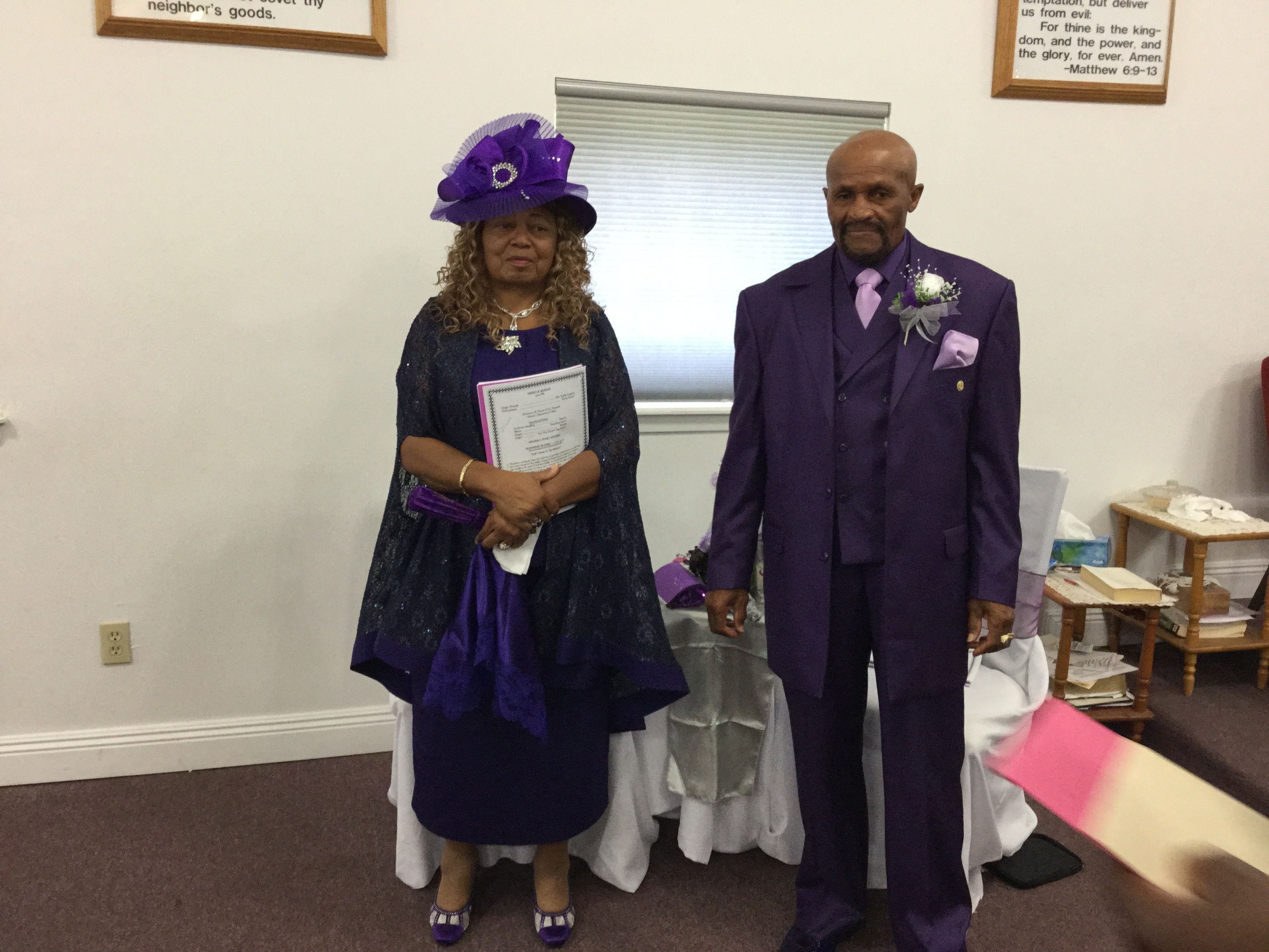 Pastor Howard & Wife Sherry Howard