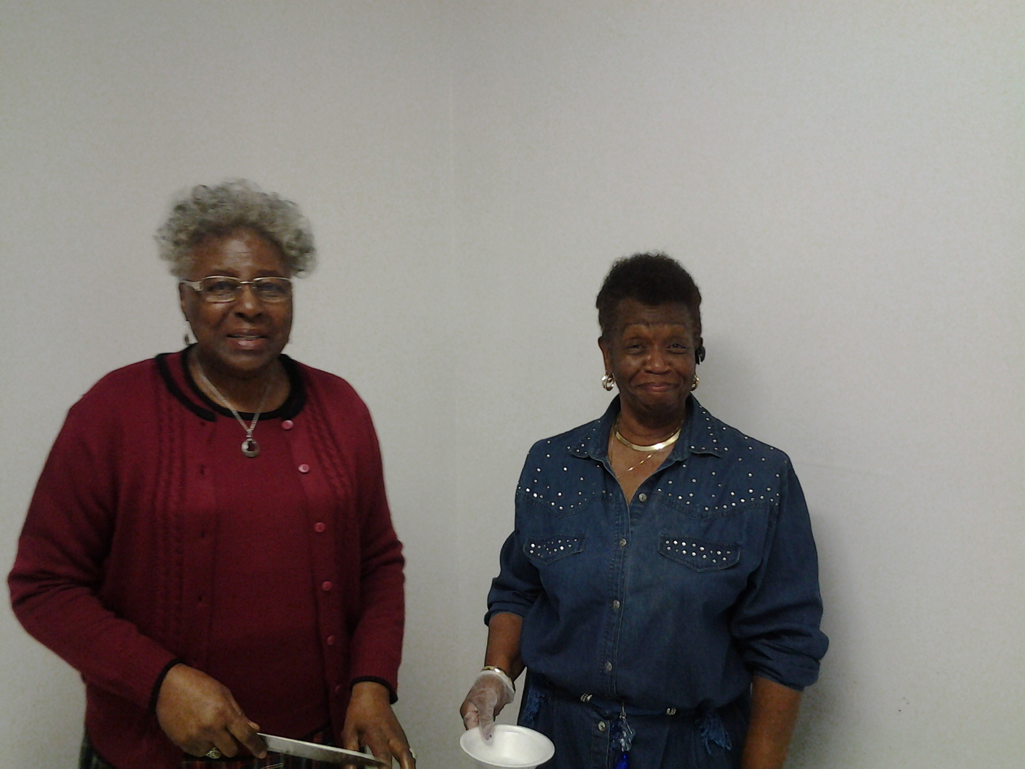 Sis Ethel Forest & Sis Janice Smith