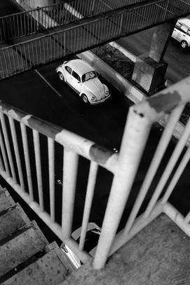 Vocho en Blanco y negro, Primer Piso, Periferico | CDMX