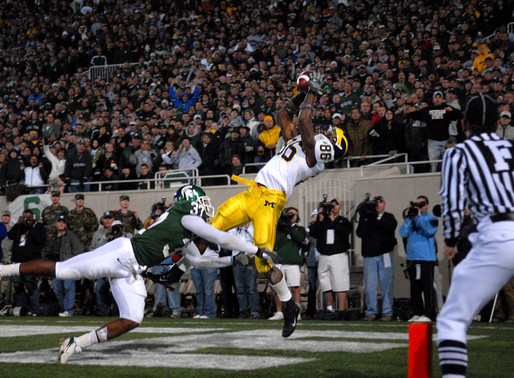 Game Winning Touchdown, 2007 Michigan vs Michigan State | From the Archive