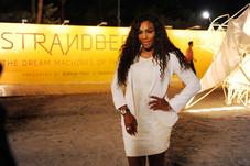 Serena Williams, Art Basel Miami Beach, 2014