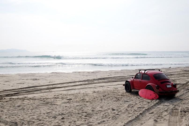 Vocho surfing | Salina Cruz Oaxaca