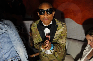 Pharrell Williams, Art Basel Miami 2012