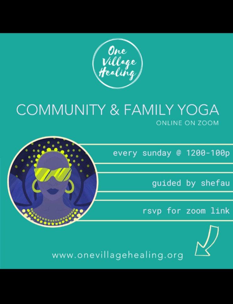 Sunday Community Rhythmic Yoga