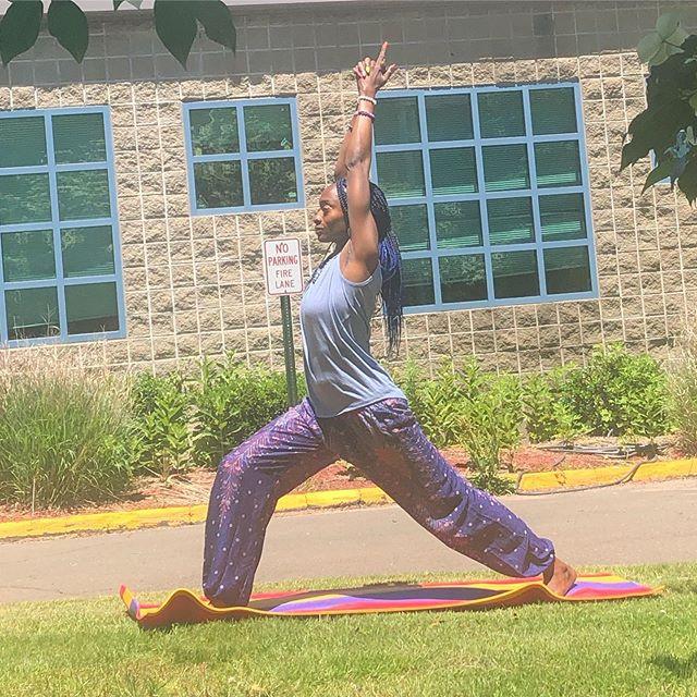 (Sunday rhythmic yoga) + (guided meditat