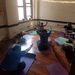 Tonight was another great Trap Yoga clas