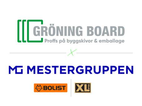 Gröning Board skriver avtal med Mestergruppen