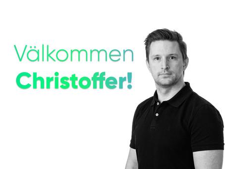 Välkommen Christoffer!