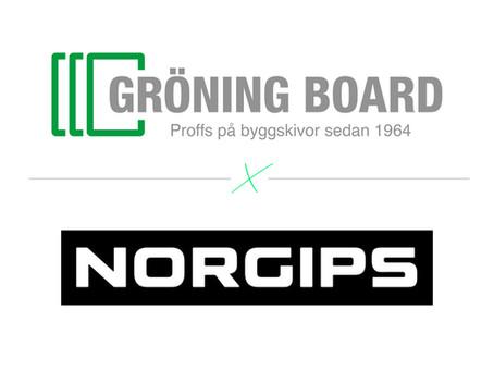 Gröning Board & Norgips inleder samarbete