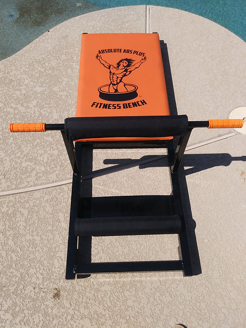 Absolute Abs Plus Adult Bench (Orange)