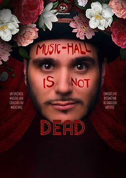 LD-Music-hall is not dead - Affiche seul