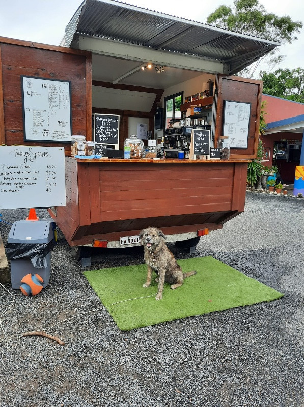 Here and There Espresso cart