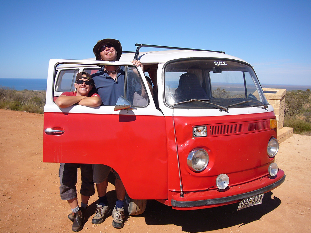 Travelling across Australia in our VW Kombi