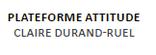 Plateforme Attitude - Claire Durand-Ruel