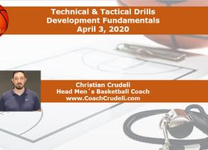 Technical & Tactical drills - Development Fundamentals