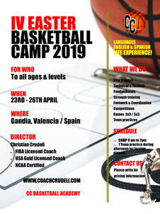 Easter Camp 2019
