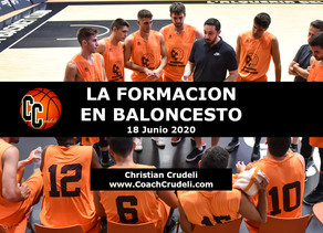 """Clinic Online Entrenadores Argentina 2020 """"La Formacion en Baloncesto"""""""