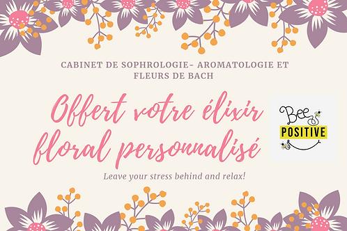 Consultation fleurs de Bach + élixir personnalisé