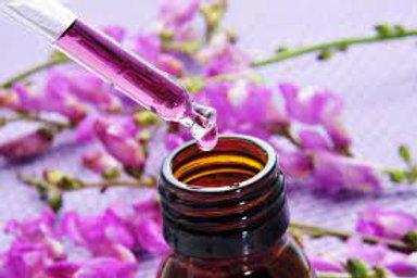 Elixir personnalisé Fleurs de Bach (base non alcoolisée)