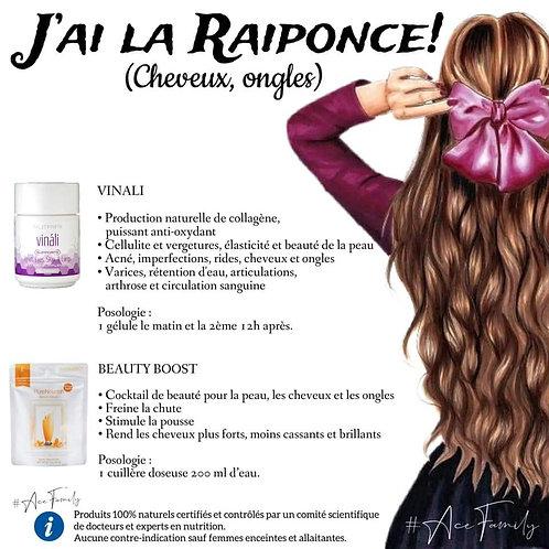 "Pack ""J'ai la Raiponce"" cheveux & ongles"