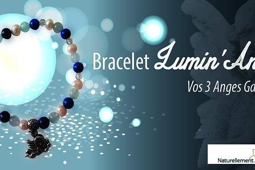 Bracelet Lumin'Ange perles de 8mm