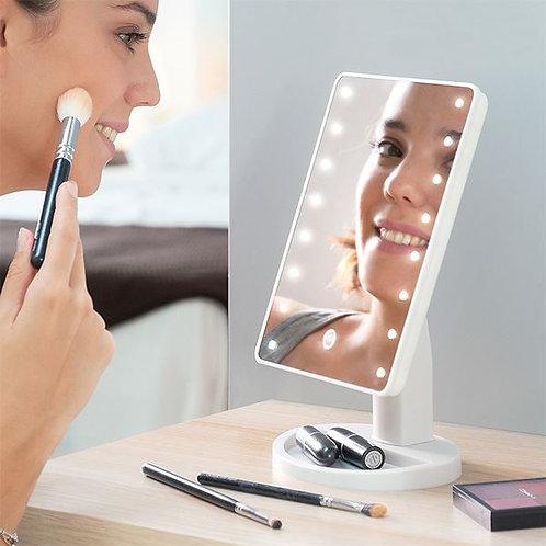 Miroir Tactile Lumineux 16 Leds