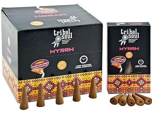 Backflow Cônes XL Tribal Soul Myrrhe 12pcs