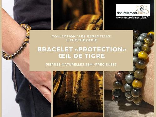 Bracelet «Confiance» Œil de Tigre