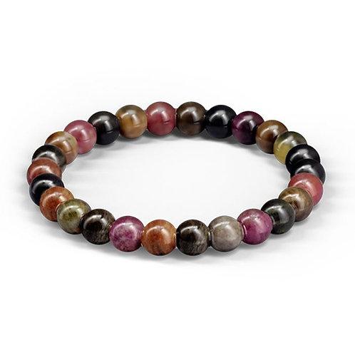 Bracelet «Intuition» Tourmaline Multicolore